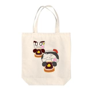 小倉トースト.夫婦バージョン Tote bags