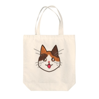 三毛猫ちゃん Tote bags