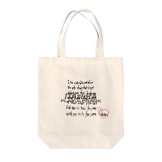 名言デザイン Tote bags