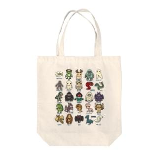 すとろべりーガムFactoryの2.5等身 UMA図鑑 Tote bags