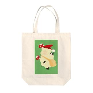 キノコヒツジ、イチョウを拾う Tote bags