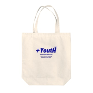 +YoutH logo Tote bags
