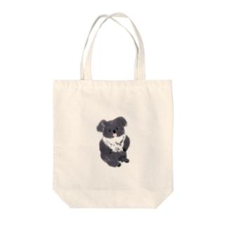 座りコアラ Tote bags