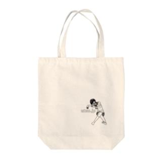 鬱ガール Tote bags