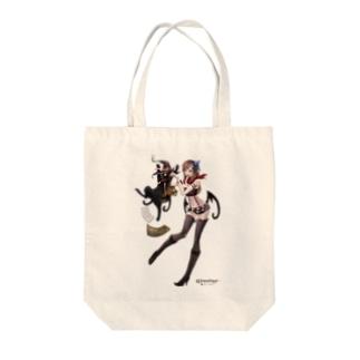 ジュジュさん ~アルプスタイル~ Tote bags