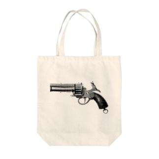 リボルバー <アンティーク・プリント> Tote bags