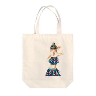 メイちゃん Tote bags