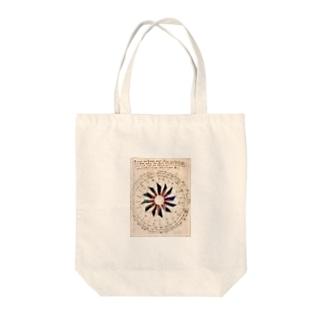 ヴォイニッチ手稿 Tote bags