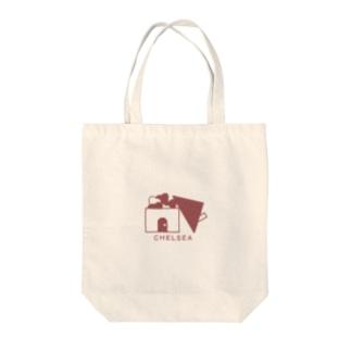 ちぇるしーHome(赤) Tote bags