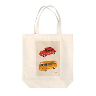 ミニカー Tote bags
