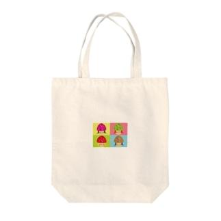 nikomomoの山子 Tote bags