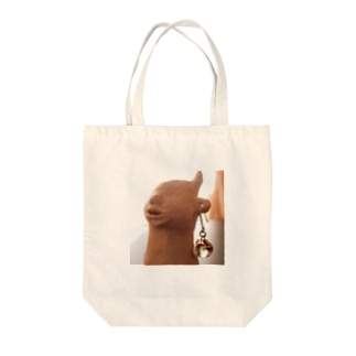 我が家ののぶ子さん Tote bags