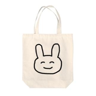 ゆるめうさぎ Tote bags