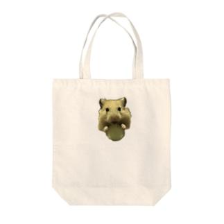 きゅうりとキンクマだいちゃん Tote bags