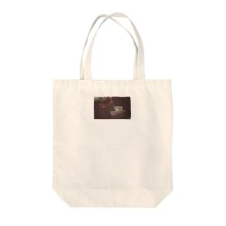 ラテアートトート Tote bags
