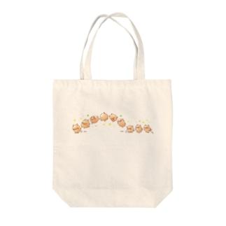 らせんゆむのぷちトン(アクロバット) Tote bags