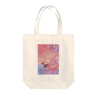第六回公演「落花する青」グッズ Tote bags