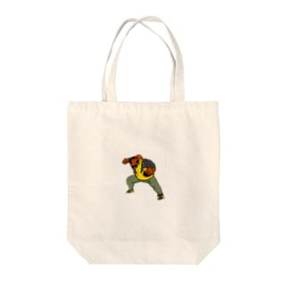 ブロンズボルト Tote bags