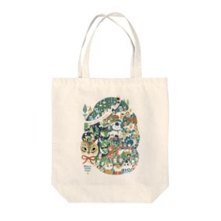 2020クリスマス Tote bags