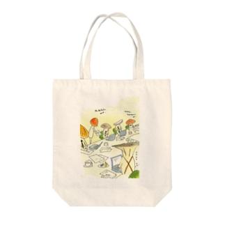 国際キノコ会議 Tote bags