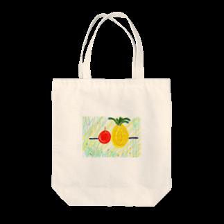 土肥千明(どひちあき)の棒パイナッポーアッポー棒 Tote bags