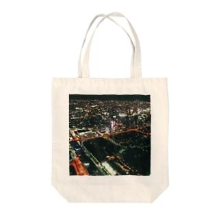 大阪の夜景 Tote bags