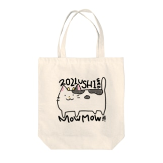 うしさんモ〜モ〜トートバッグ Tote bags