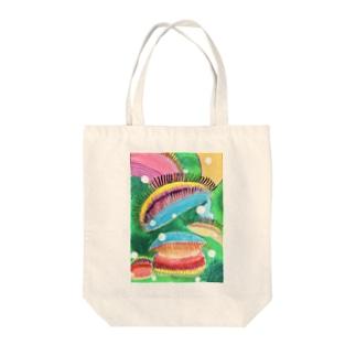 ハエトリグサ Tote bags