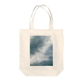 くらげのバッグ Tote bags