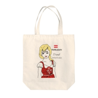 ディアンドル Tote bags