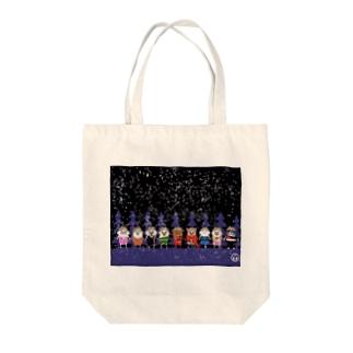 マーベルドッグス笠地蔵 Tote bags