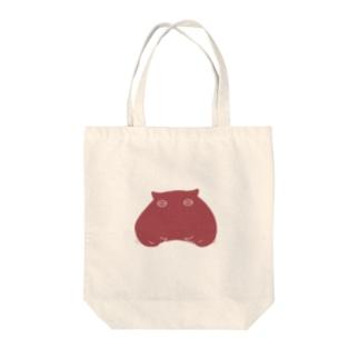メンダコ(赤) Tote bags