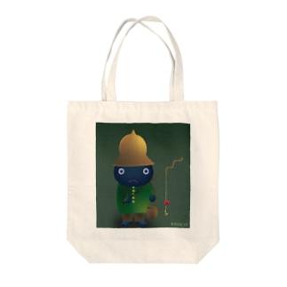 お誘い Tote bags