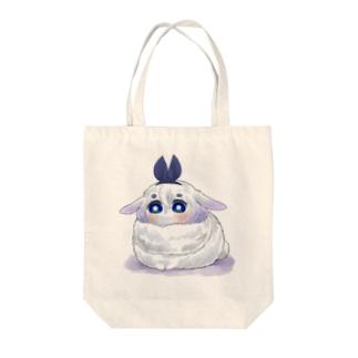 ウサギ卯月ちゃん Tote bags