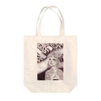 天の川に願いを Tote bags