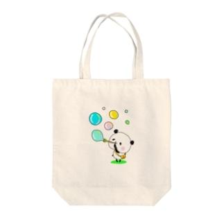 ぽよぽよパンダ Tote bags