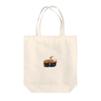 Ikura Tote bags