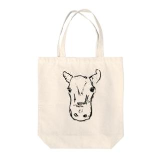 牛ちゃん Tote bags