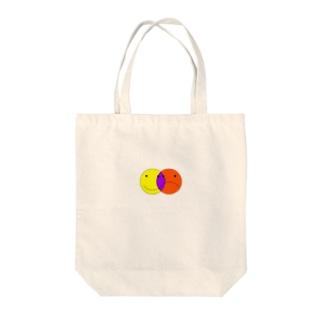 ニコニコ Tote bags