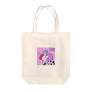 お部屋 Tote bags