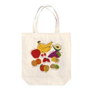 美肌フルーツランキング Tote bags