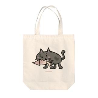 ネコです Tote bags