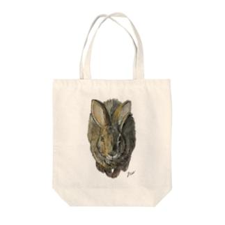 ノウサギのぷっち君 Tote bags