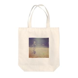 フワッ Tote bags