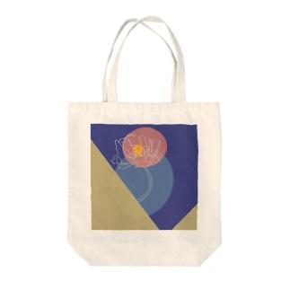 灯る花 Tote bags