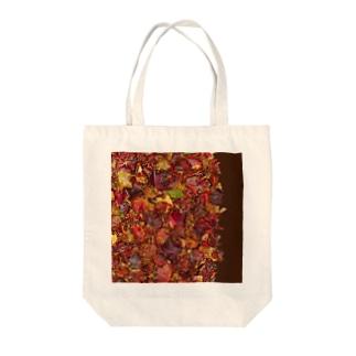 「秋のぽぉけっと。」AZTB02 Tote bags