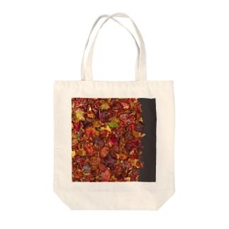 「秋のぽぉけっと。」AZTB04 Tote bags
