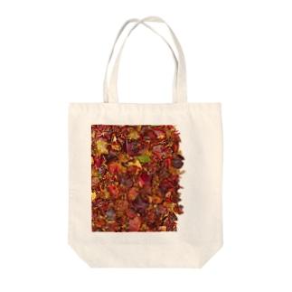 「秋のぽぉけっと。」AZTB06 Tote bags