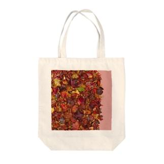 「秋のぽぉけっと。」AZTB07 Tote bags