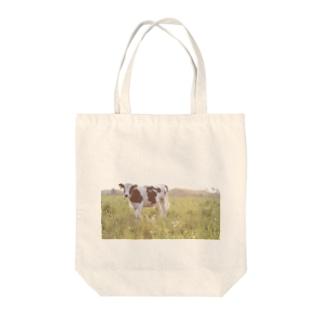 うし Tote bags